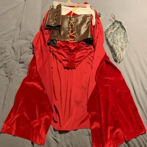 Red Haute Storybook costume